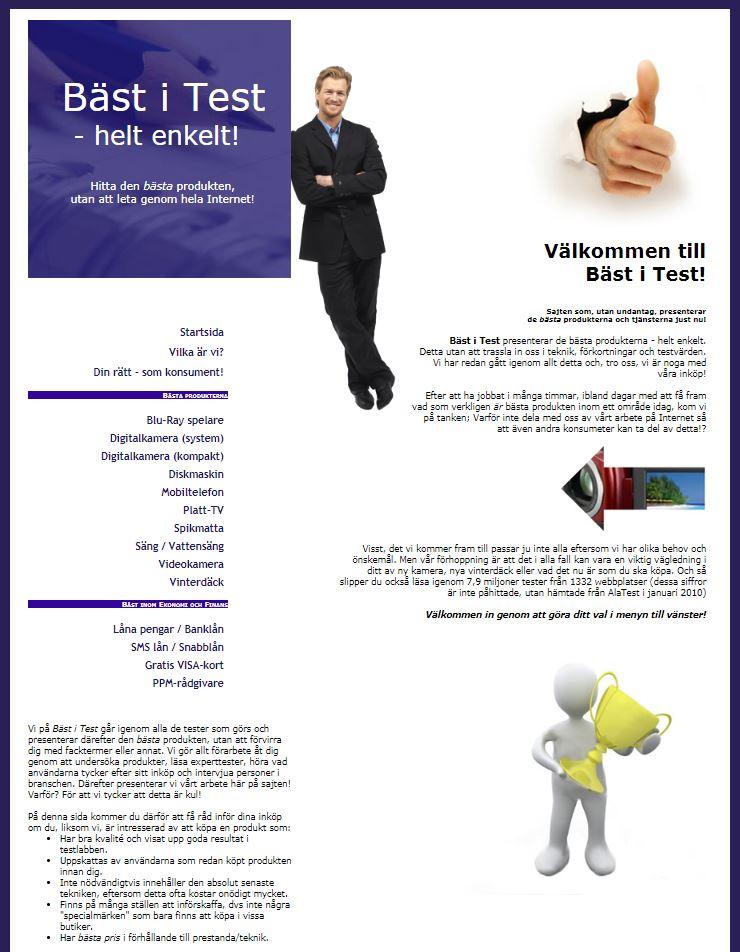Bäst i test Guiden 2010