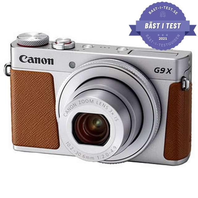 Bästa digitala kompaktkamera 2020 - Canon PowerShot G9 X Mark II