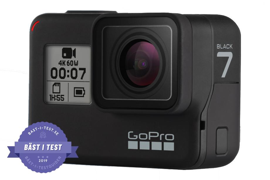 Bästa actionkameran - GoPro Hero7 Black
