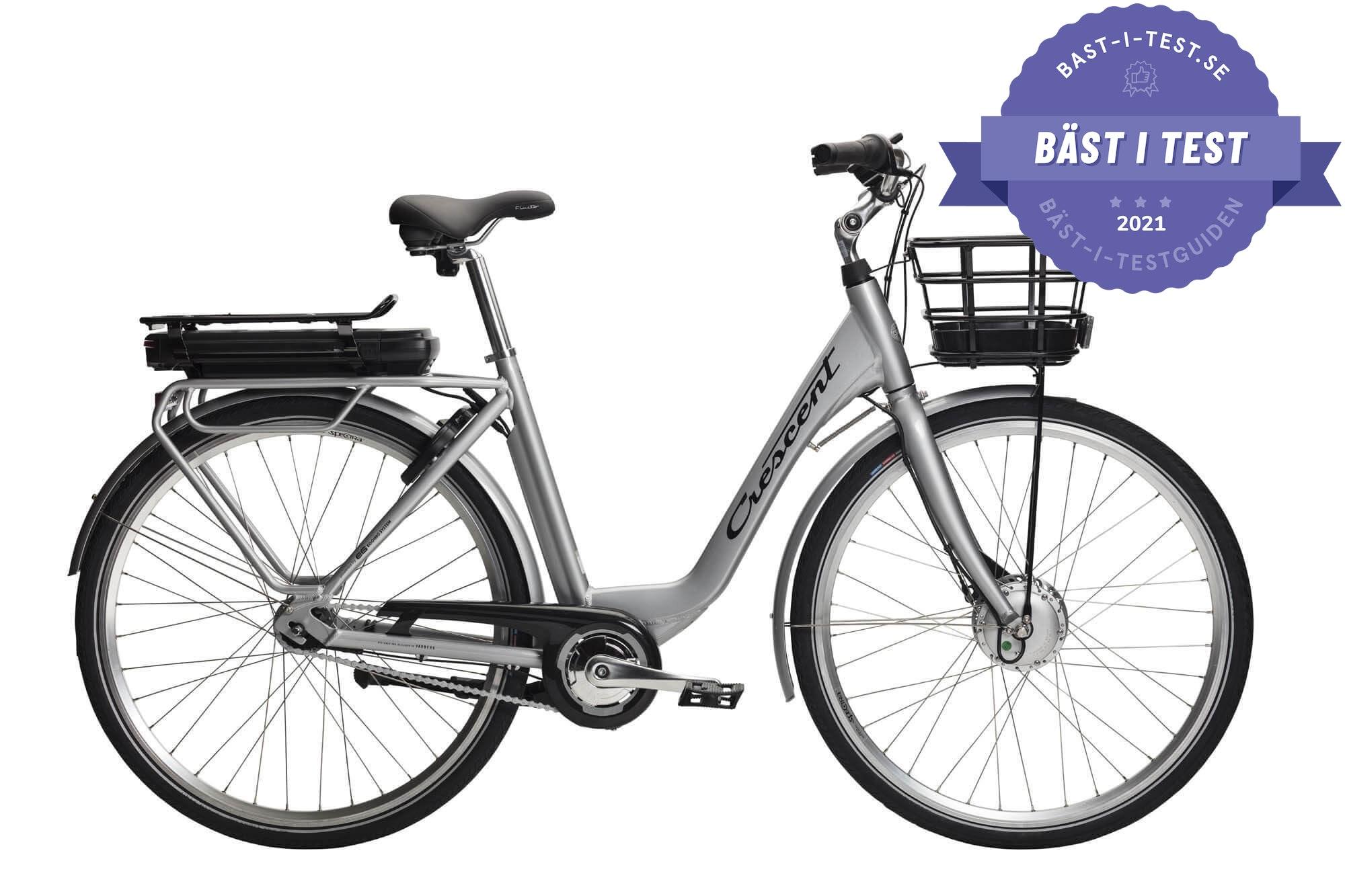 Bästa dam elcykel 2020 - Crescent Elina (dam