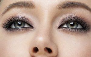 fylliga ögonfransar