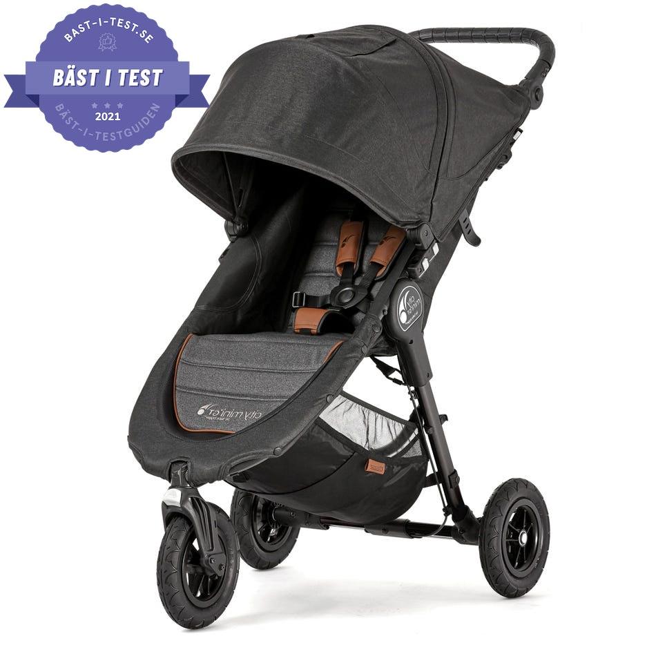 sittvagn/sulky bäst i test - Baby Jogger City Mini GT