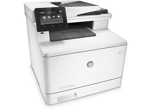 ännu större kapacitet på färglaserskrivare - HP Color LaserJet Pro 400 M477fdw