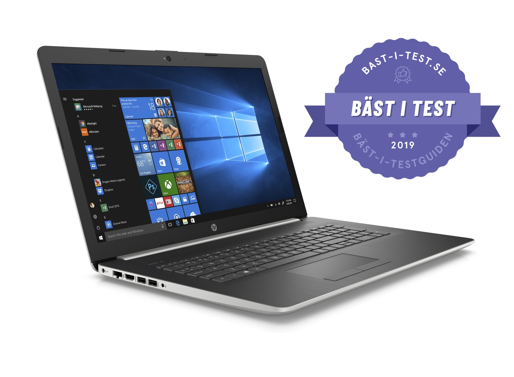 Bästa laptop 2019 - HP Notebook17-ca1011no