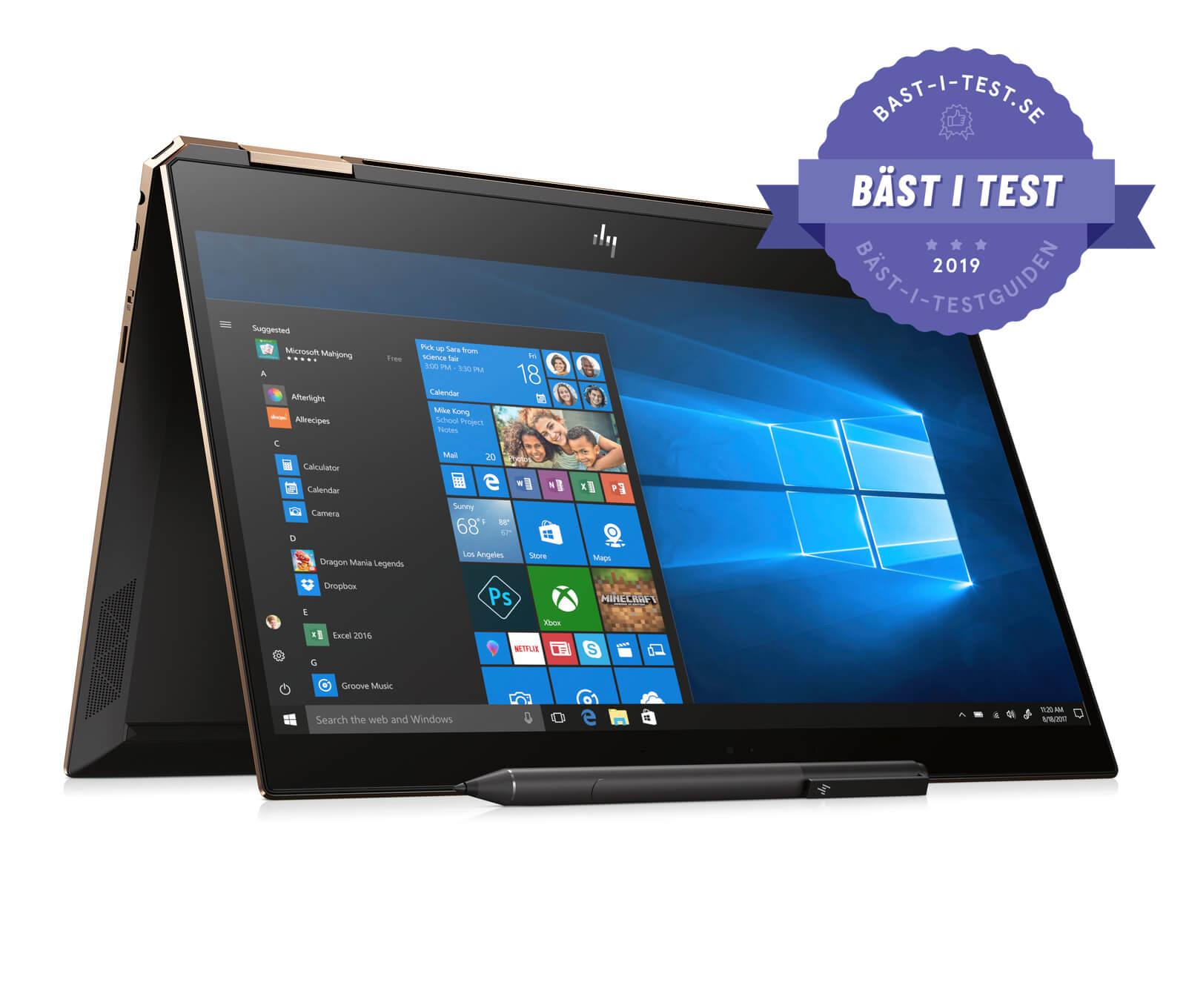 Bästa laptopen - HP Spectre X360