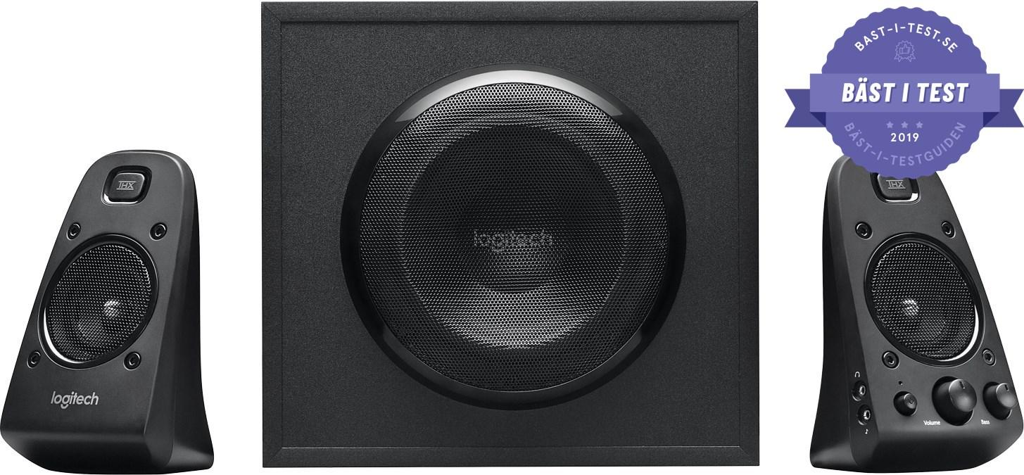 Testvinnare högtalare för PC 2.1-ljud