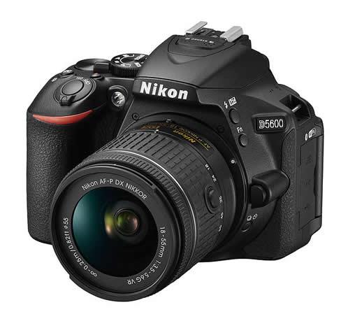 Bäst i test av system digitalkameror - Nikon D5600