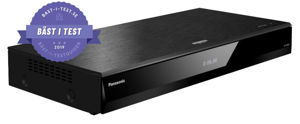 Bästa UHD bluray spelare - Panasonic DP-UB820EG
