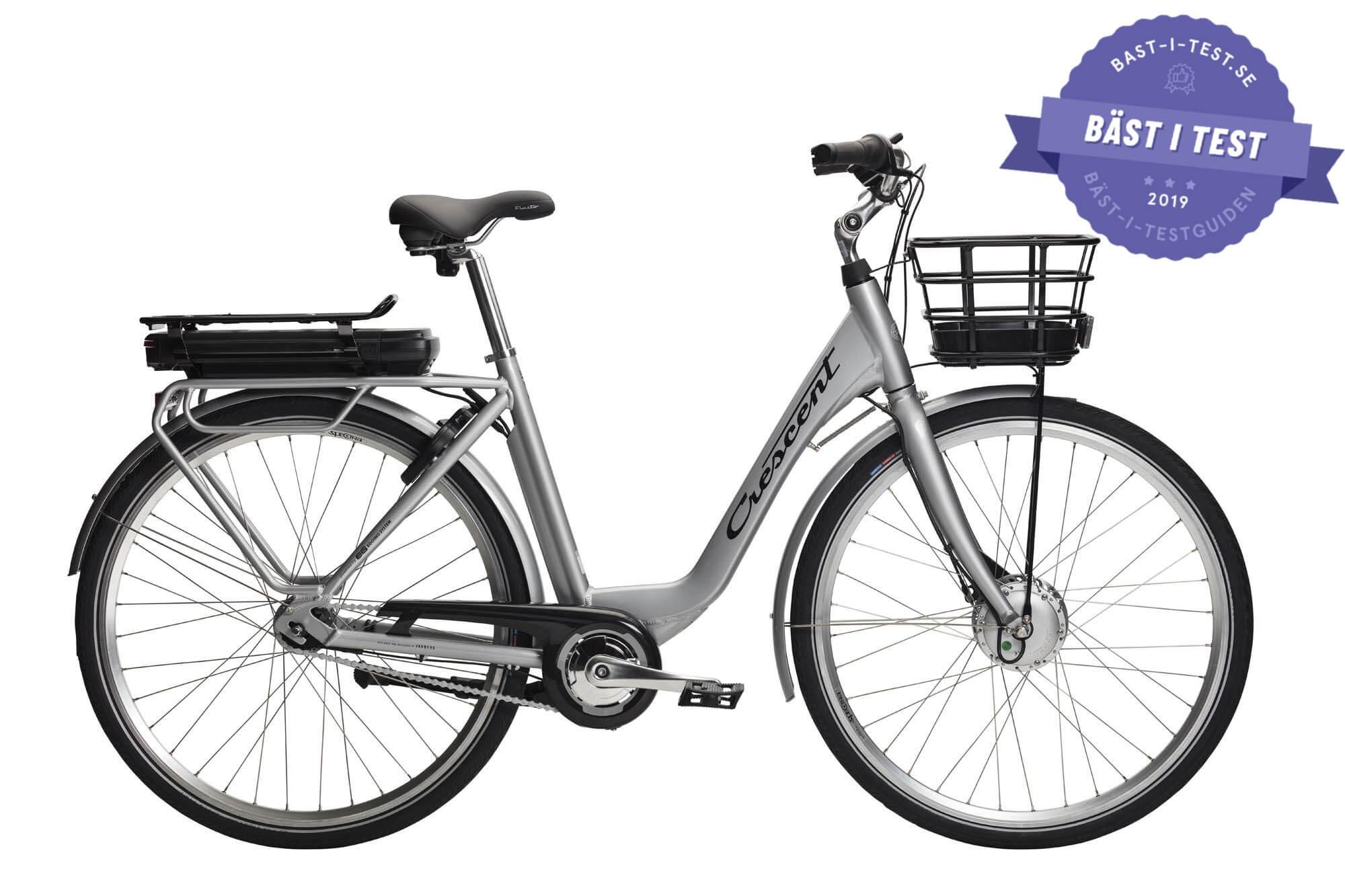 Bästa dam elcykel 2019 - Crescent Elina (dam
