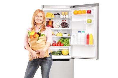 Välj det bästa kylskåpet för att förvara dina matvaror på ett bra och energisnålt sätt