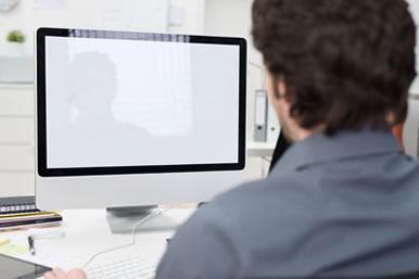 Test på skärm till dator