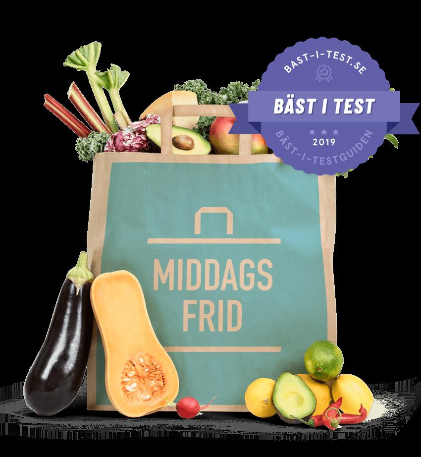 Test på bästa matkasse - matkasse Middagsfrid