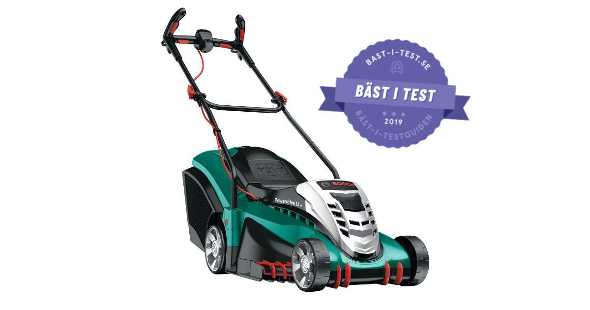 Test elgräsklippare - Bosch Rotak 43