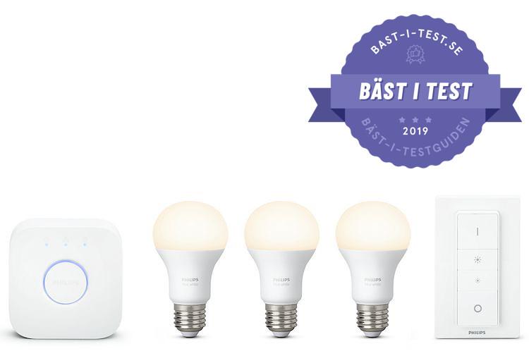 Smartaste lamporna just nu - Philips Hue White Starter Kit