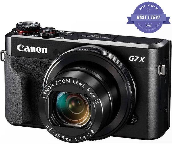 Bästa digitala kompaktkamera 2020 - Canon PowerShot G7 Mark II