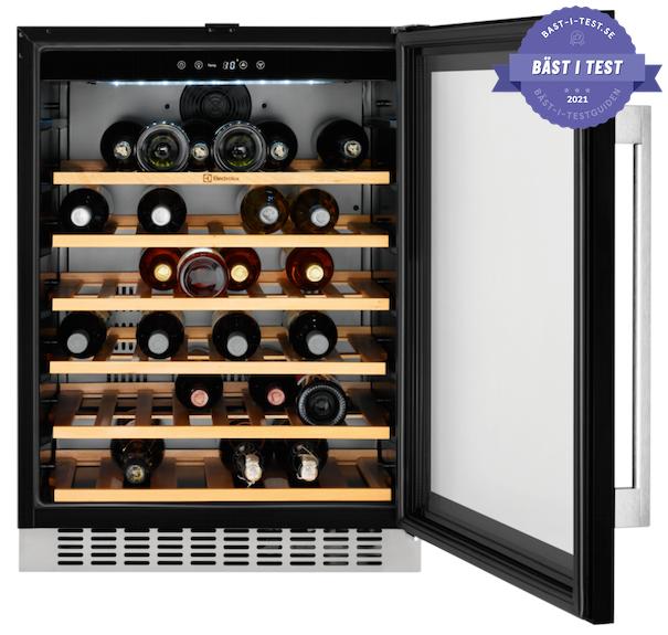 bästa integrerade vinkylen - vinkyl för inbyggnad Electrolux ERW1573AOA - bästa vinkyl 2020