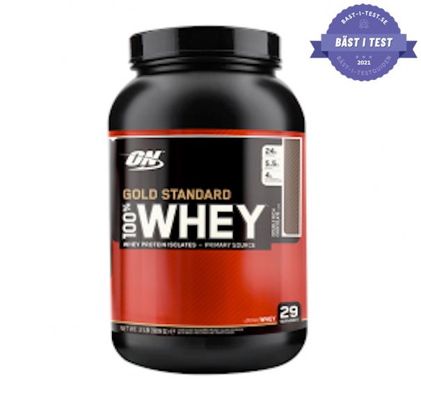 proteinpulver - bästa proteinpulvret