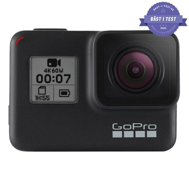 Bästa actionkameran 2020 - GoPro Hero7 Black