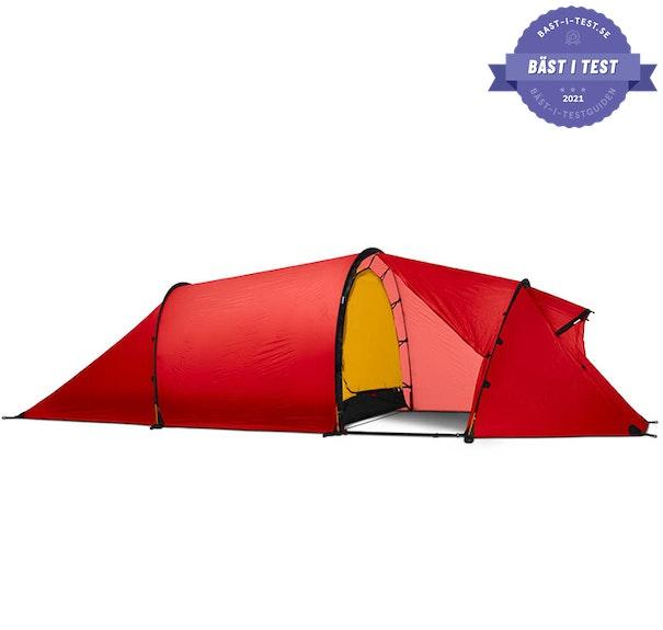 Bästa tunneltältet - fyrmannatält - ultralätt tält - tält
