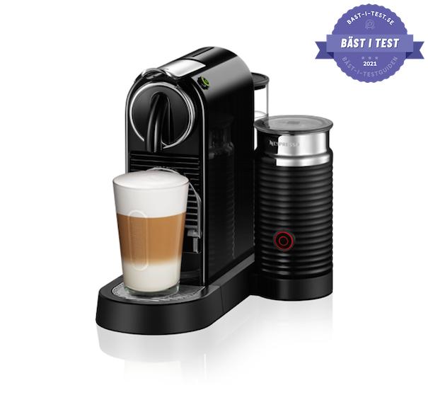 bästa kapselmaskinen - Nespresso Citiz & Milk