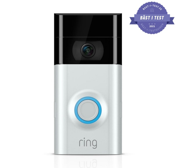 smart dörrklocka med kamera - trådlös dörrklocka från Ring Video Doorbell V3