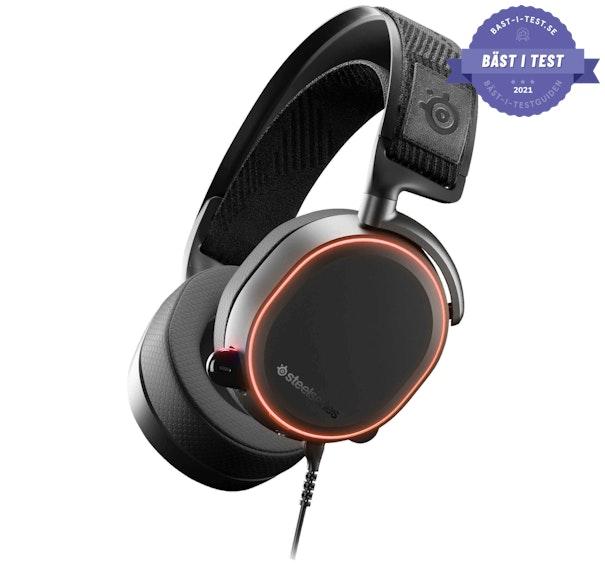 bästa gaming hörlurar 2020 - Steelseries Arctis Pro